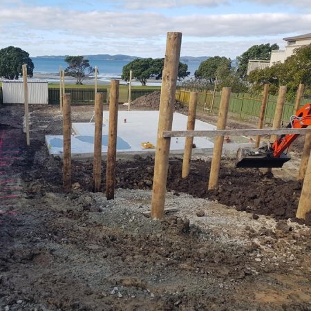 Concrete-foundation-and-piles-in-front-of-sea-view