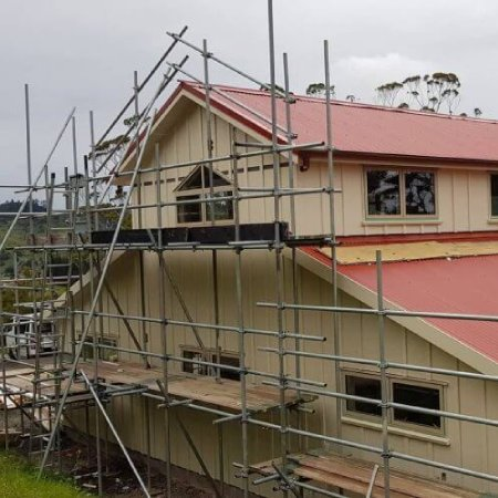House-construction-with-scaffolding